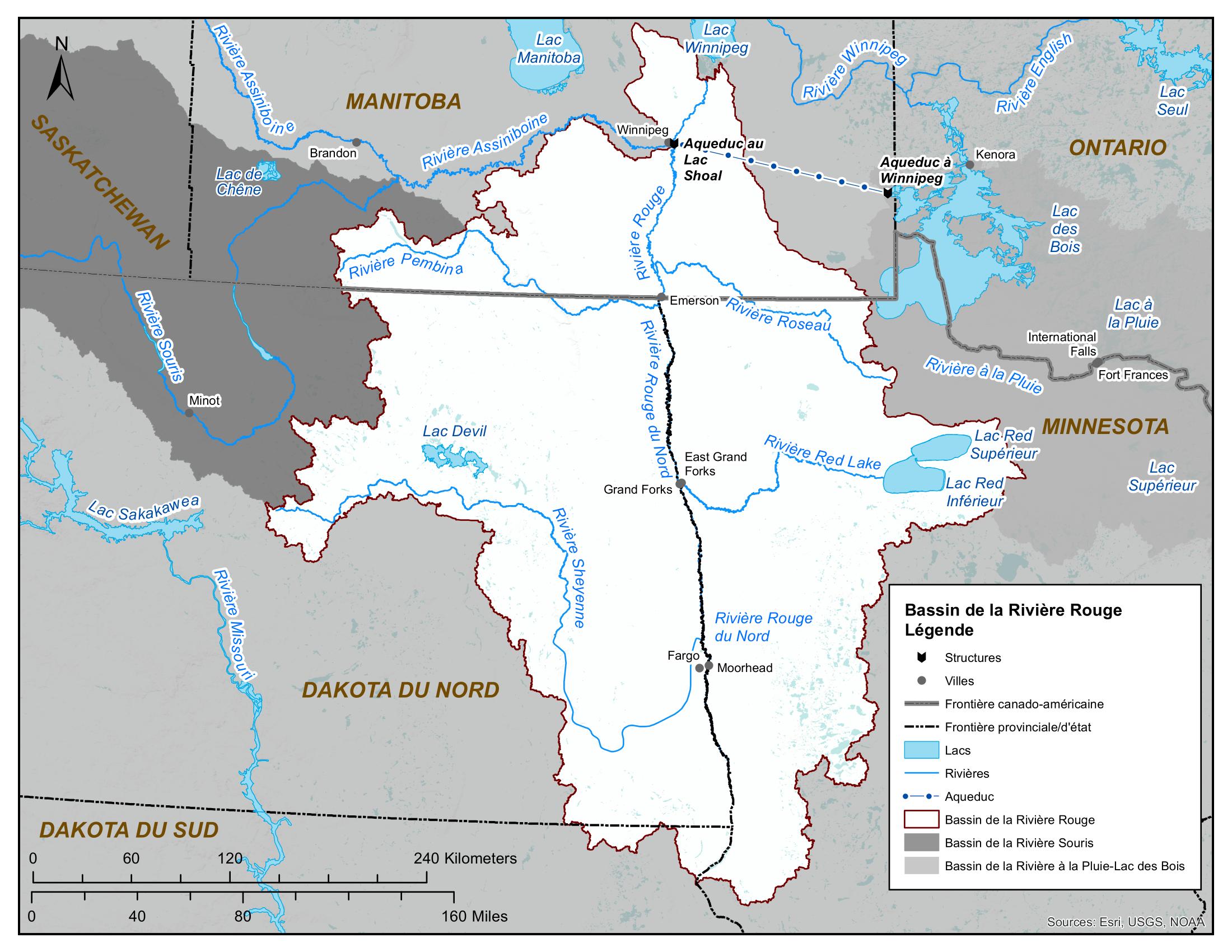 Carte - Rivière Rouge