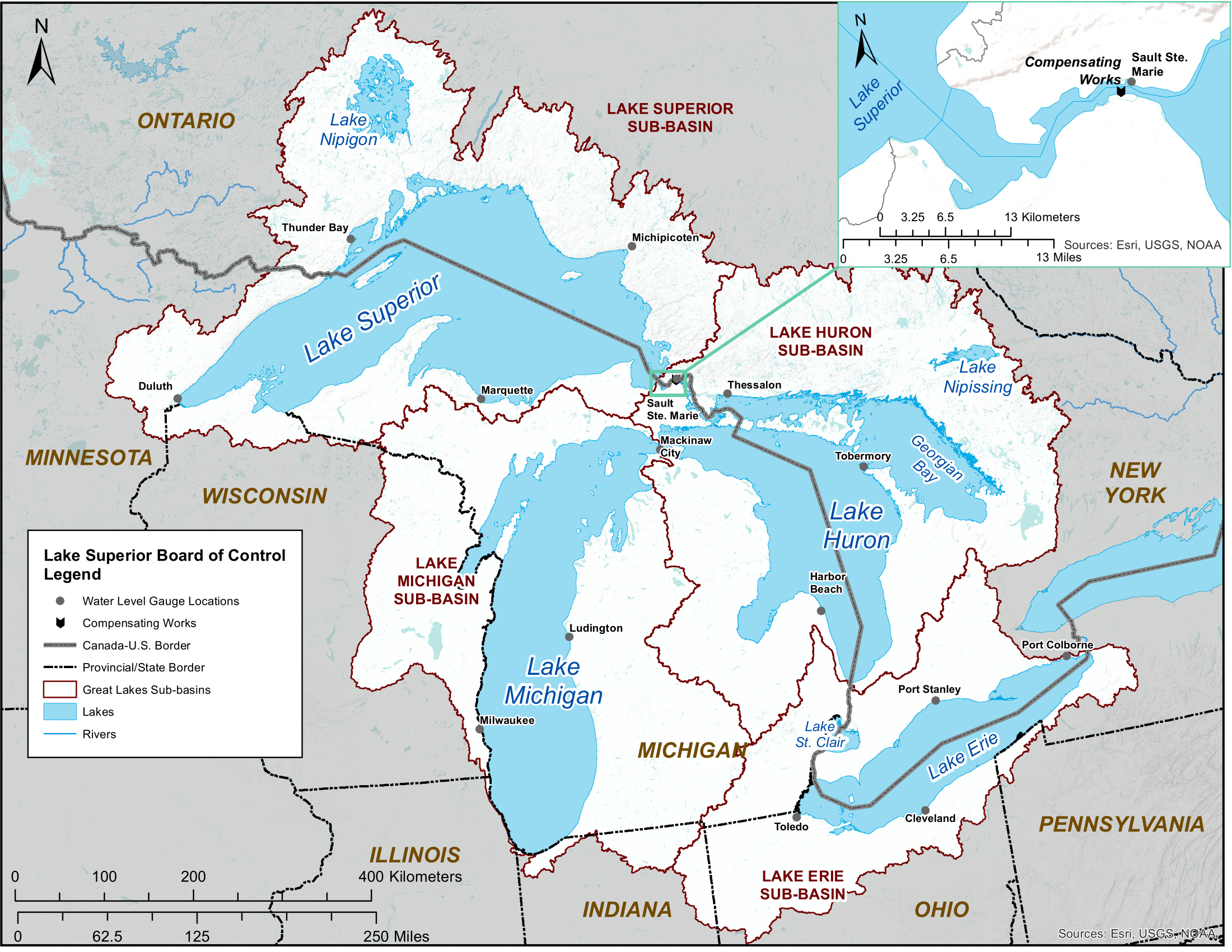 Lake Superior Map
