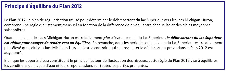 Plan 2012 Balancing Principle