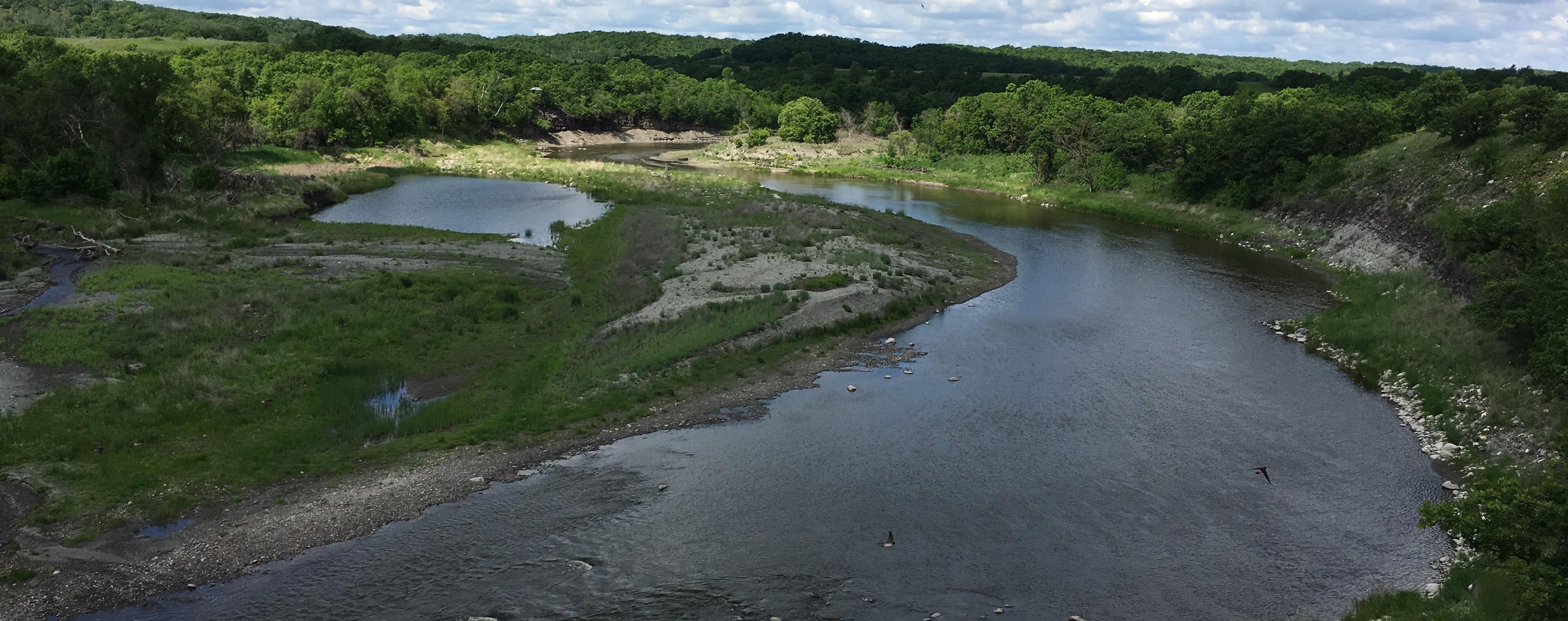 Souris River at Manitoba Provincial 10