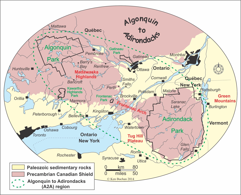 A2A map