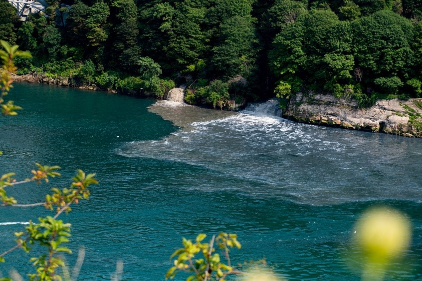 An Aug. 15 discharge of sewage into the Niagara River