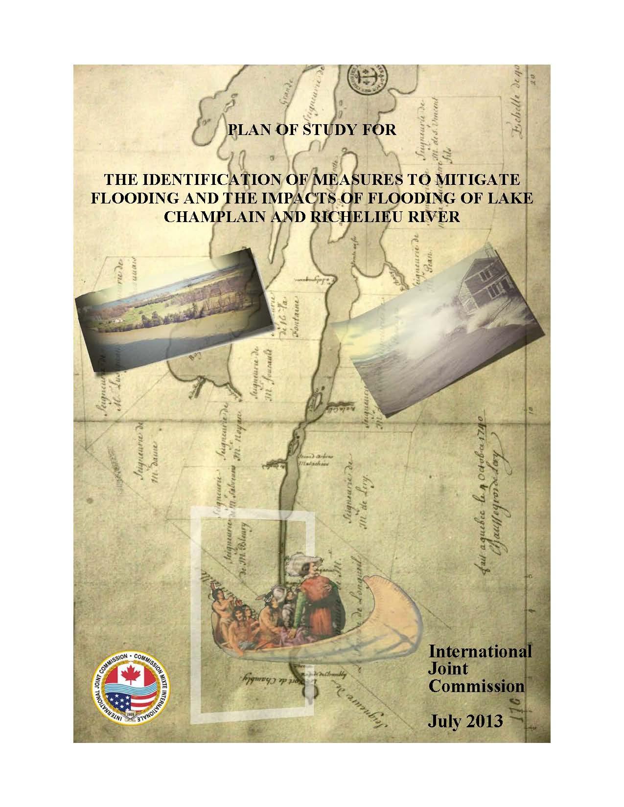 Lake Champlain Richelieu River Plan of Study