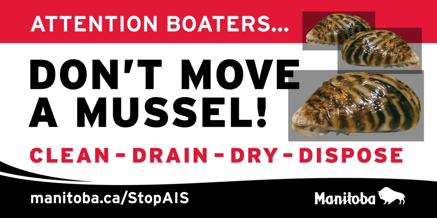 An example from the 'Don't Move a Mussel!' campaign.