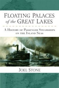 floating palaces great lakes book cover joel stone