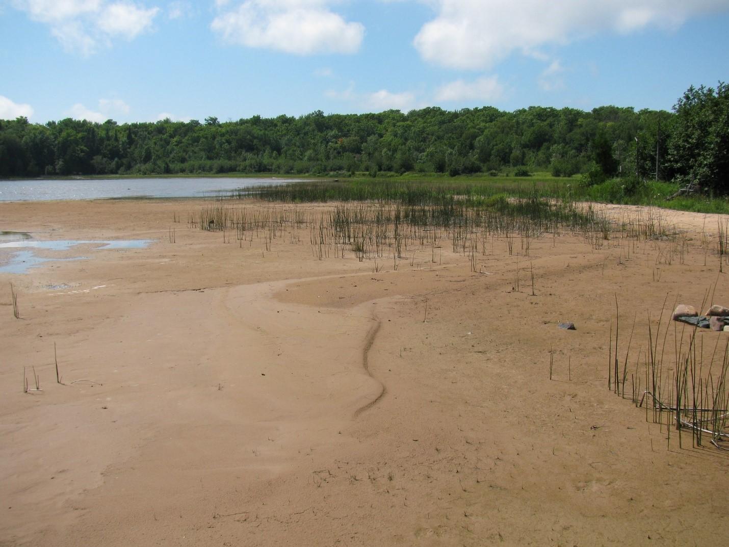 Baie Batchawana, lac Supérieur. Photo prise en juillet 2010. Source : archives de la CMI