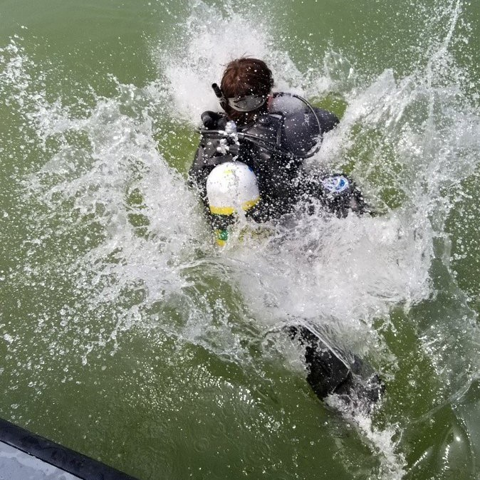 noaa diver saginaw bay