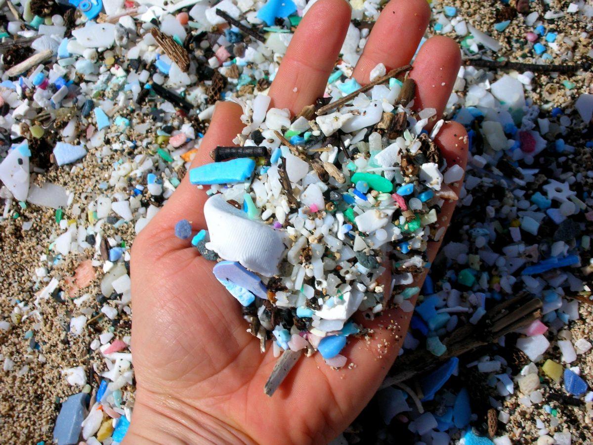 plastic microplastics microbeads