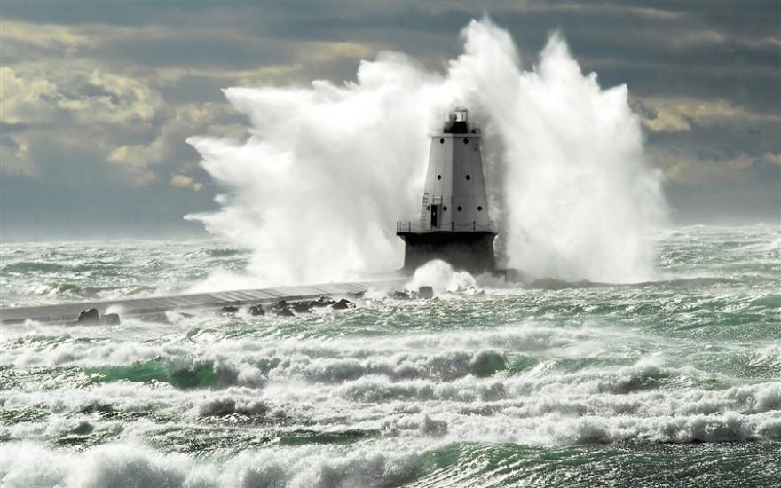 lake michigan storm noaa