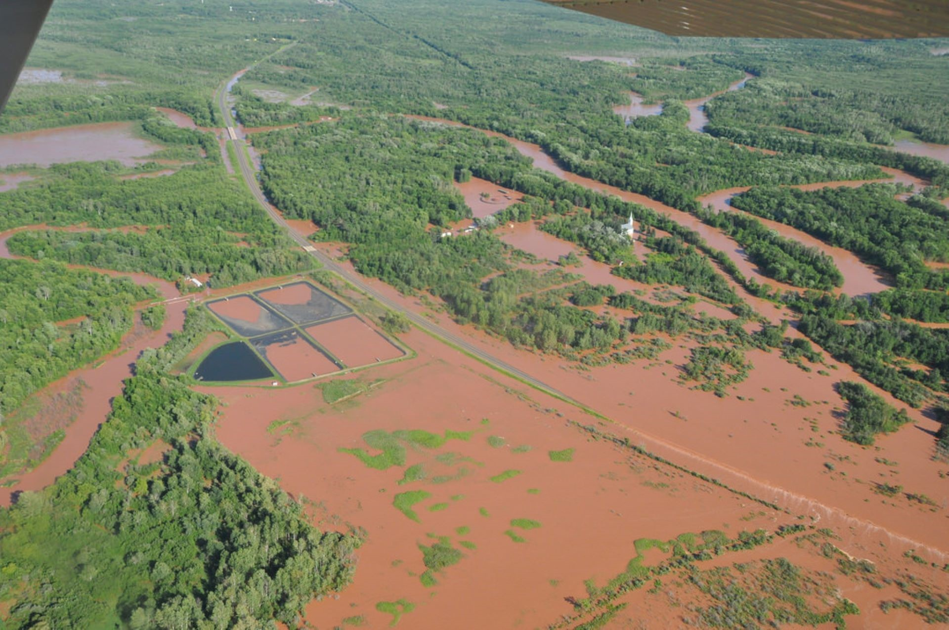 In June 2017, Michigan's Saginaw Bay region weathereda stormthat caused major flooding to roads, homes, businesses and agriculture, and a state of emergency was declared in Bay, Isabella and Midland counties.Credit: Michigan Sea Grant