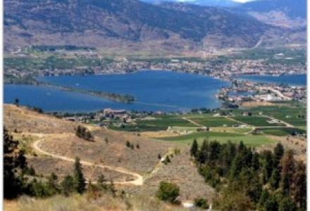 Water Matters - Hilltop view of Lake Osoyoos