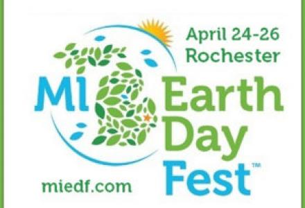 Water Matters - Michigan Earth Day Festival poster