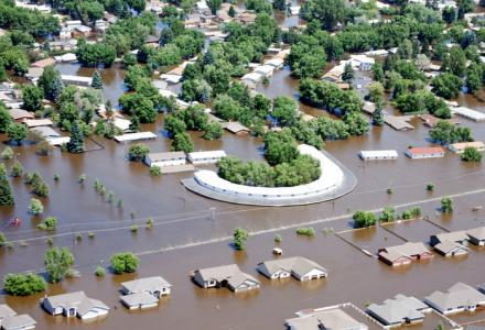 Minot North Dakota Souris River Flood 2011