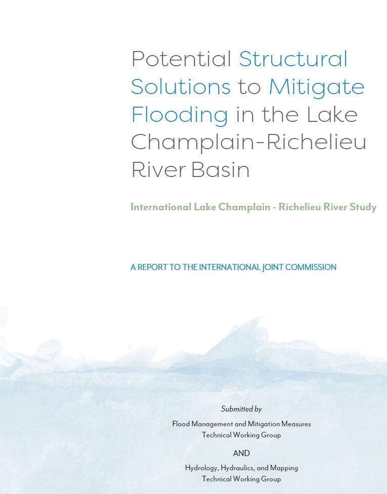 Potential Structural Solutions Report Cover