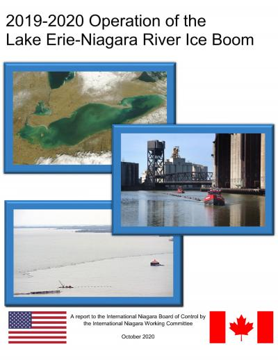 2019-2020 Operation of the Lake Erie-Niagara River Ice Boom