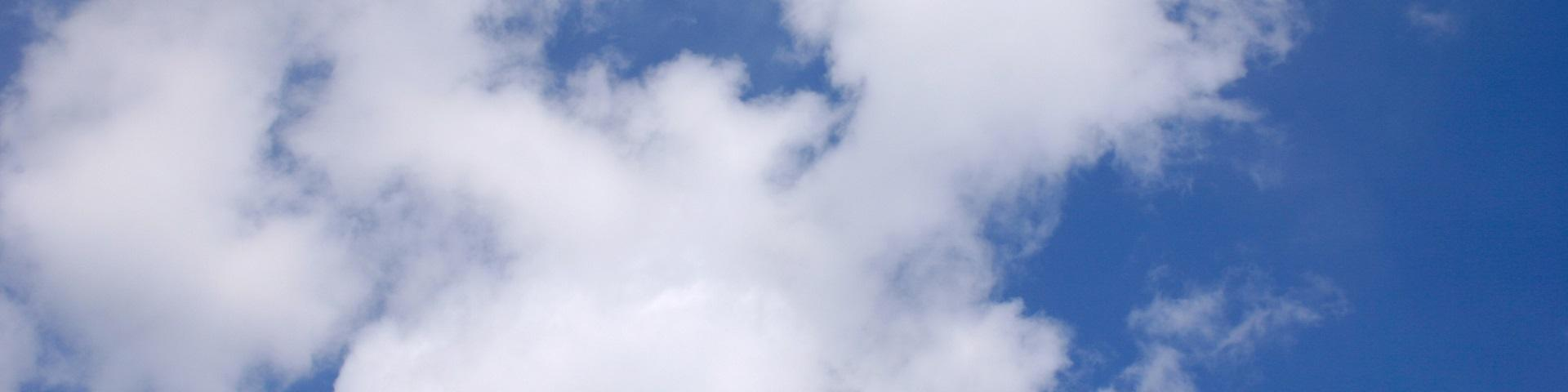 Image of clouds in the air