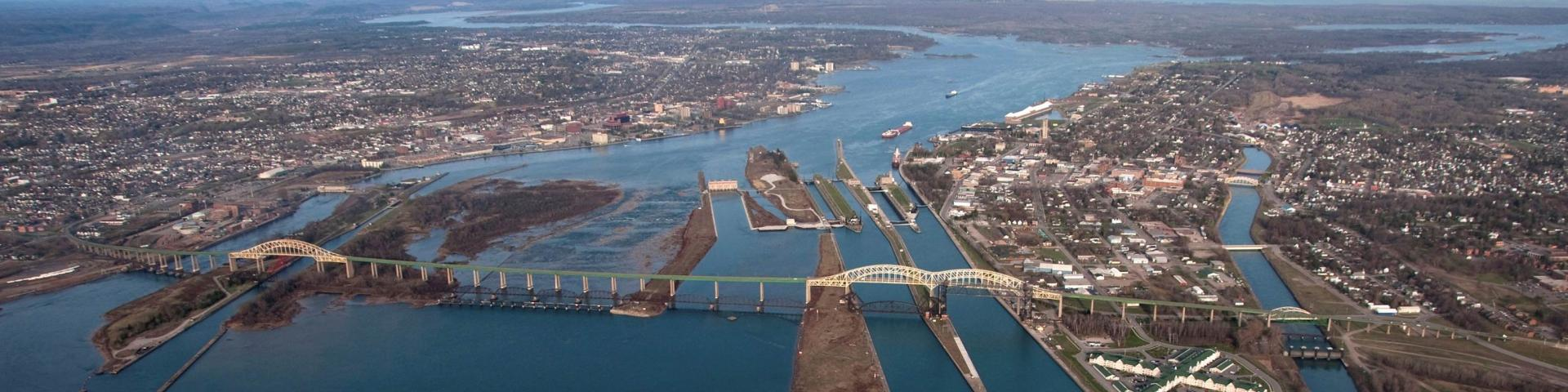 Image of St. Marys River Control Structures