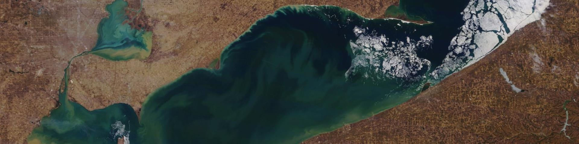 Lake Erie Ice Cover March 27, 2019
