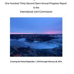 Cover page 132nd INBC Semi-Annual Progress Report
