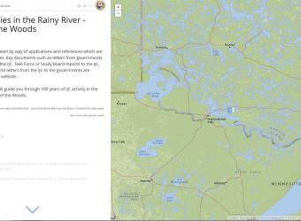 IJC Activities in the Rainy River-Lake of the Woods Screenshot