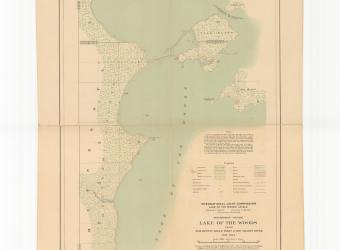 MAP - Lake of the Woods Oak Island sheet no 3 - 1914-01-01