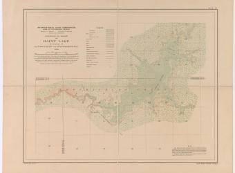 MAP - Rainy Lake Rat Root River sheet no 1 - 1914-01-01