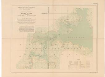 MAP -Rainy Lake Black Bay sheet no 2 - 1914-01-01
