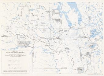 IJC Area Map Souris-Red Rivers Reference - 1980-01-01