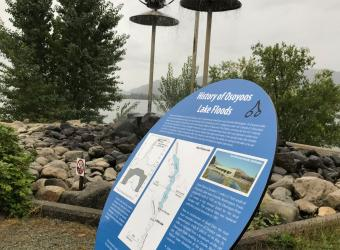 osoyoos levels marker