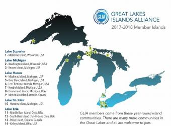 great lakes island alliance map