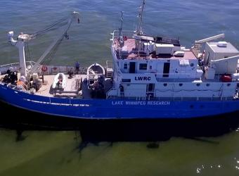 lake winnipeg research vessel