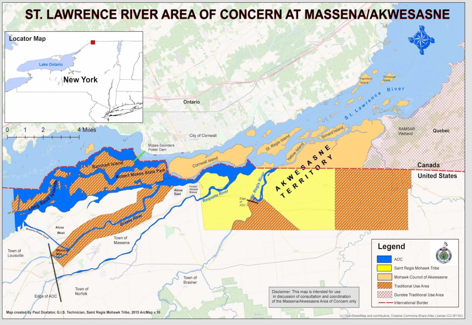 US St. Lawrence River Area of Concern