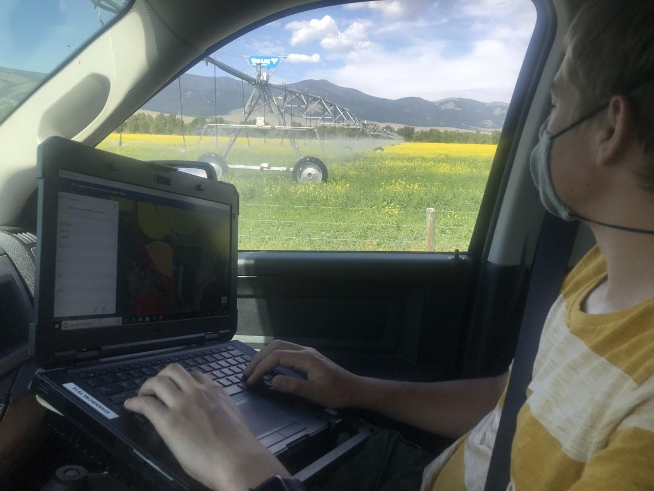 usgs montana field